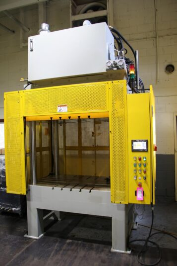 New MetalPress 75 Ton Trim Press Die Casting #4587