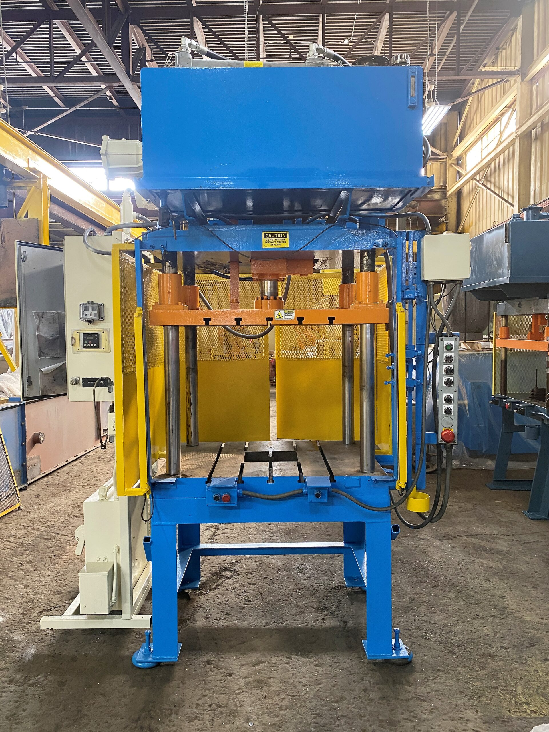Used Trim Press 35 Ton Metal Mechanics