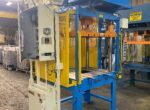 Used Metal Mechanics 35 Ton Trim Press Die Casting #4787