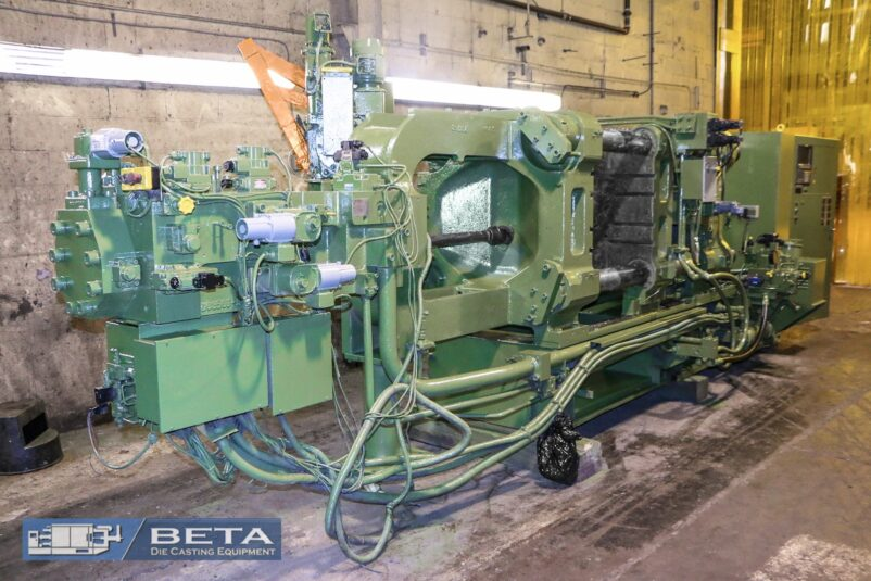 Used Toshiba 350 Ton Cold Chamber Die Casting Machine #4017