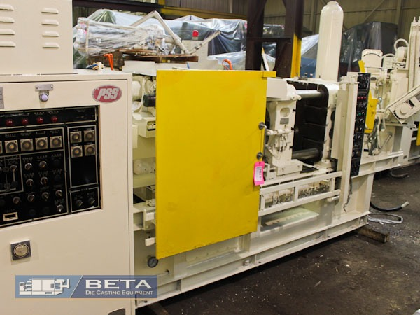 Used Toyo 138 Ton Cold Chamber Die Casting Machine #3882