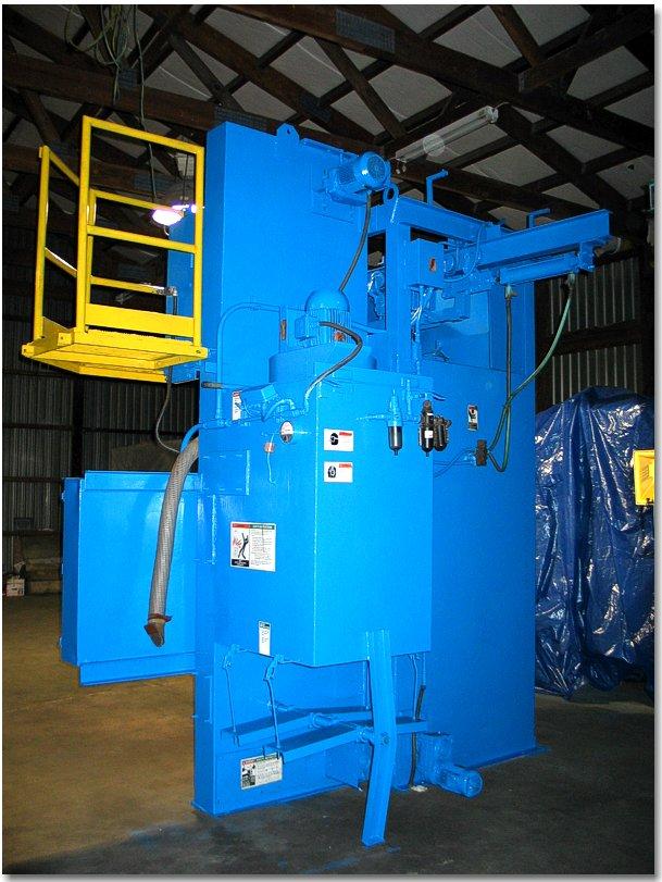 Used Wheelabrator Shot Blast Machine Wheelabrator #3185