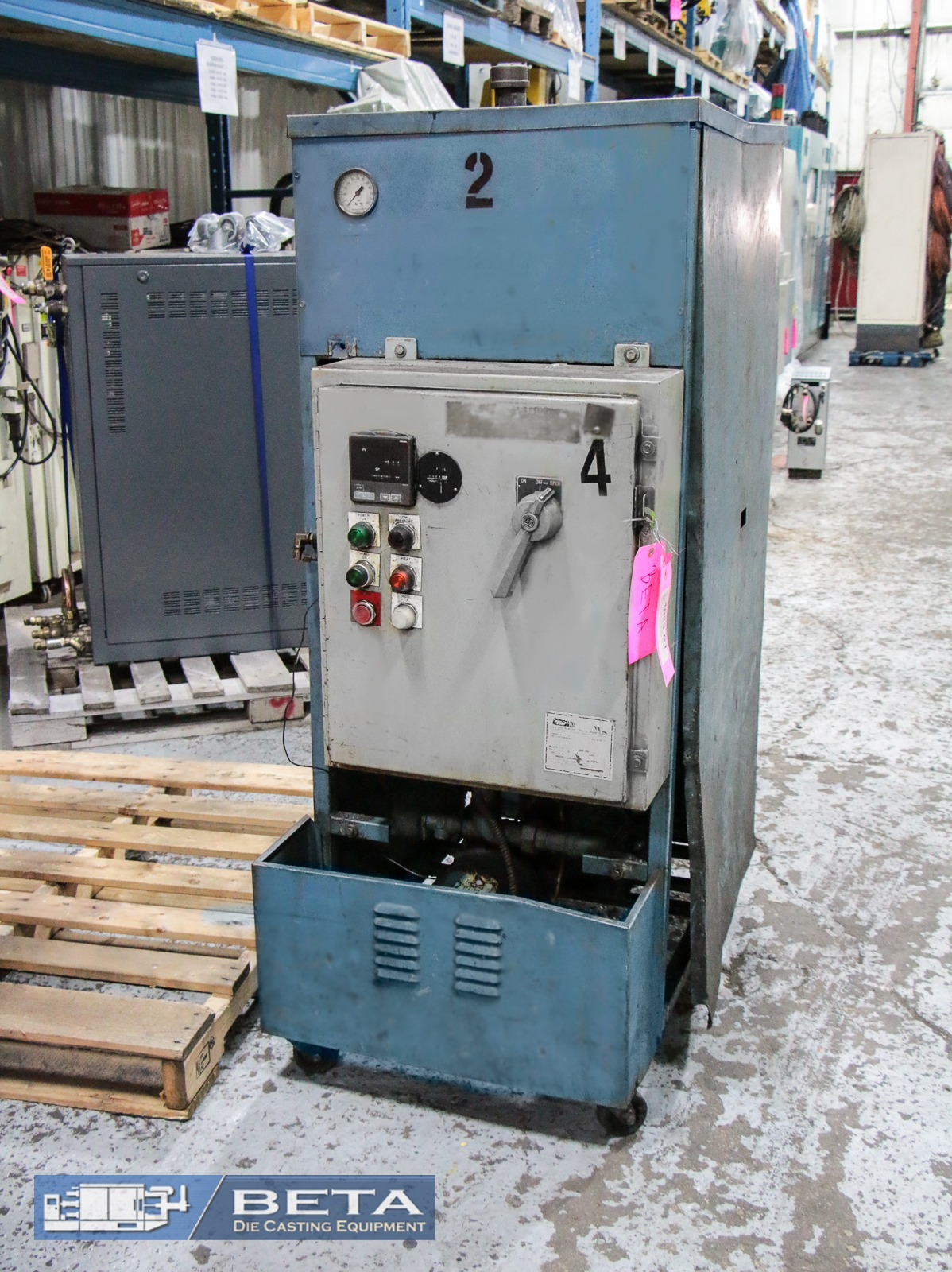 Used QPC Hot Oil Temperature Control Unit #4083