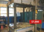 Used Dake 50 Ton Spotting Press Die Casting #4116