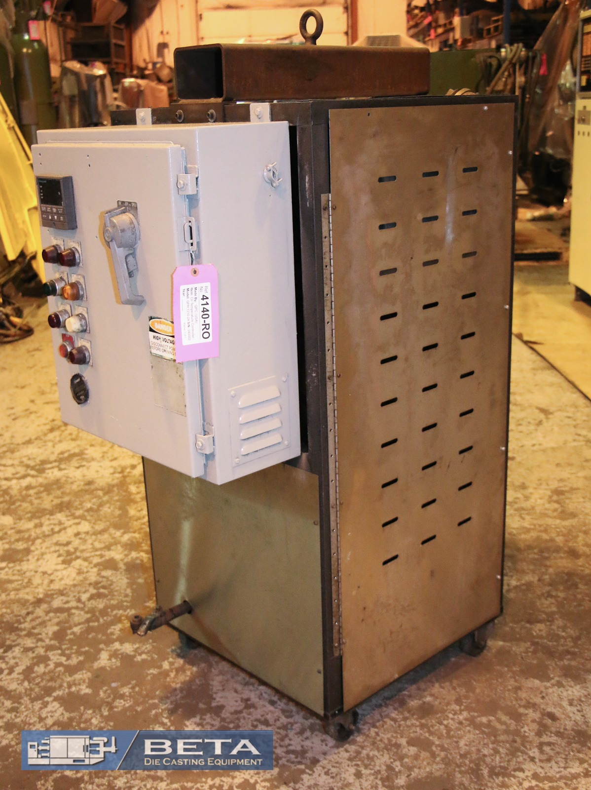 Used QPC Hot Oil Temperature Control Unit #4140