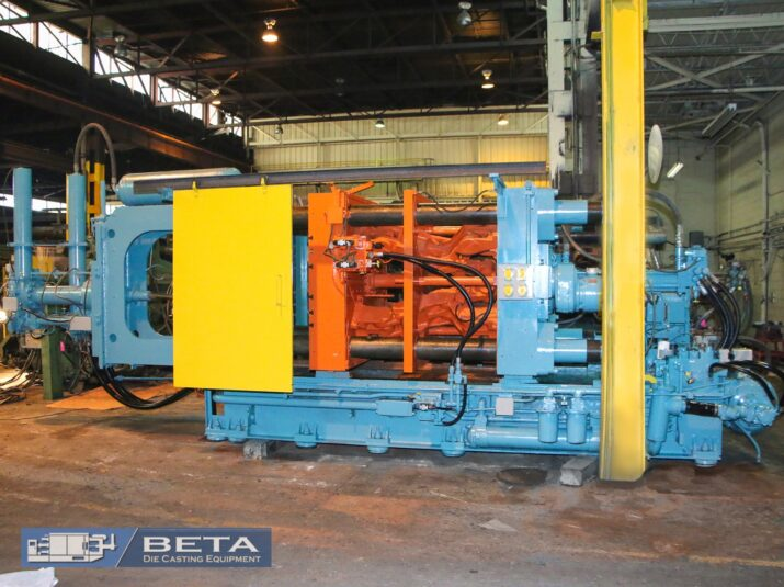 Used B&T 1000 Ton Cold Chamber Die Casting Machine #4152