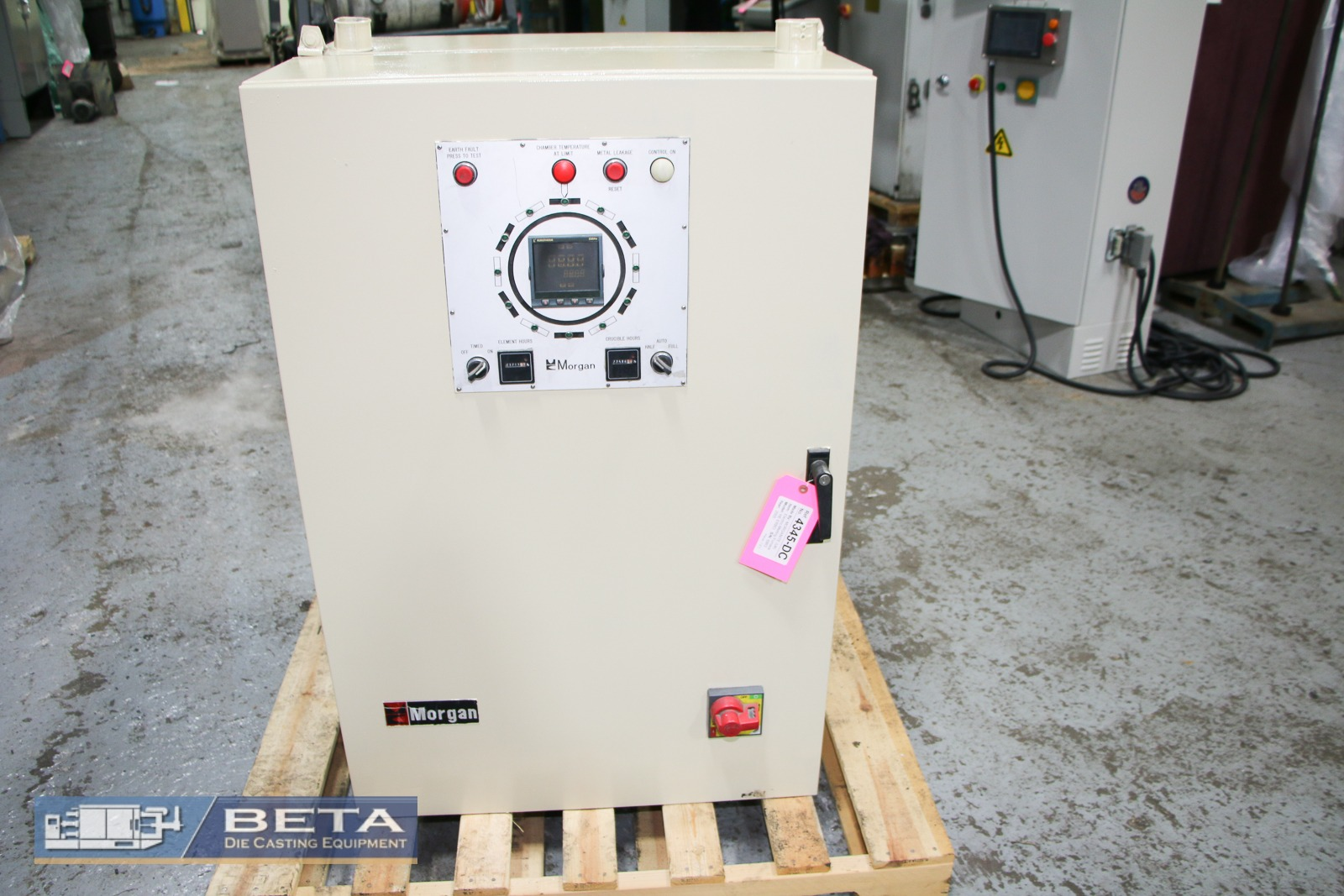 Used Morgan 470 Lbs Electric Melting and Holding Furnace #4345