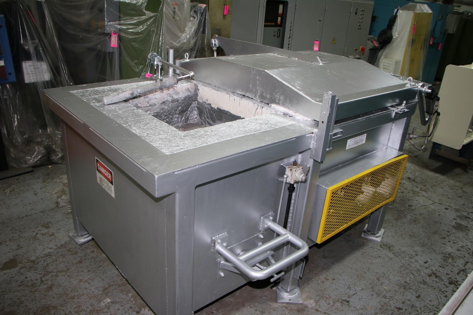 Used Striko Dynarad 6614 Lbs Electric Holding Furnace #4463