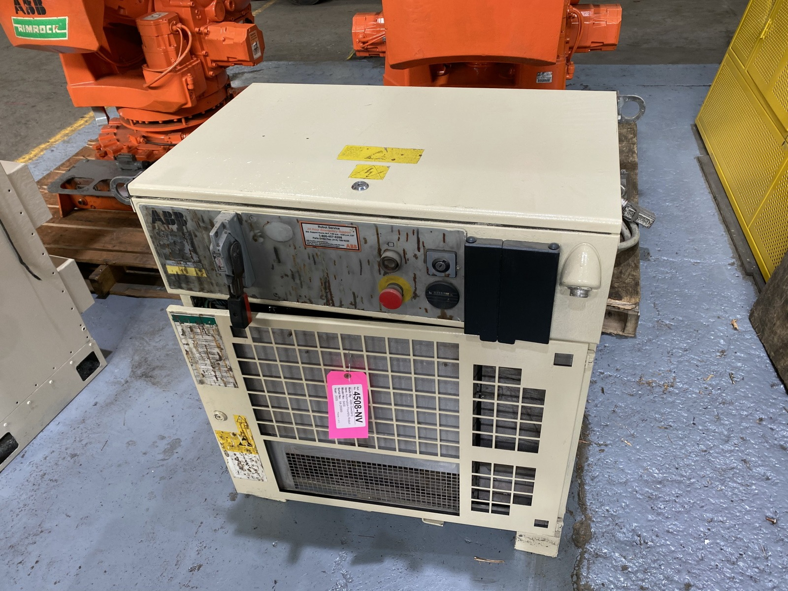 Used ABB 6400 Foundry Plus Robot #4508