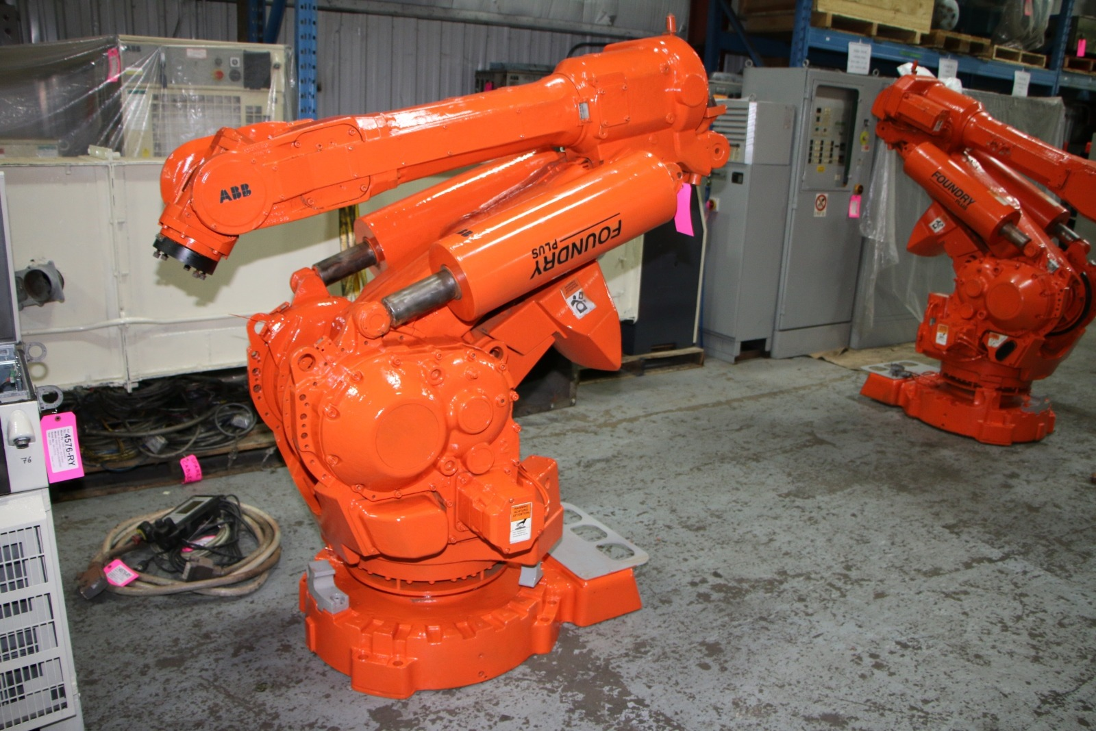 Used ABB 6400 Foundry Plus Robot #4576
