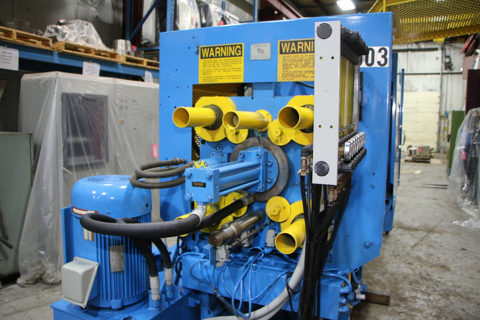Used National 150 Ton Hot Chamber Die Casting Machine # 4617