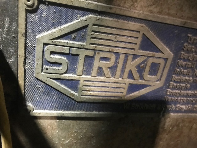 Used Striko 1653 Lbs Gas Melting and Holding Furnace #4642