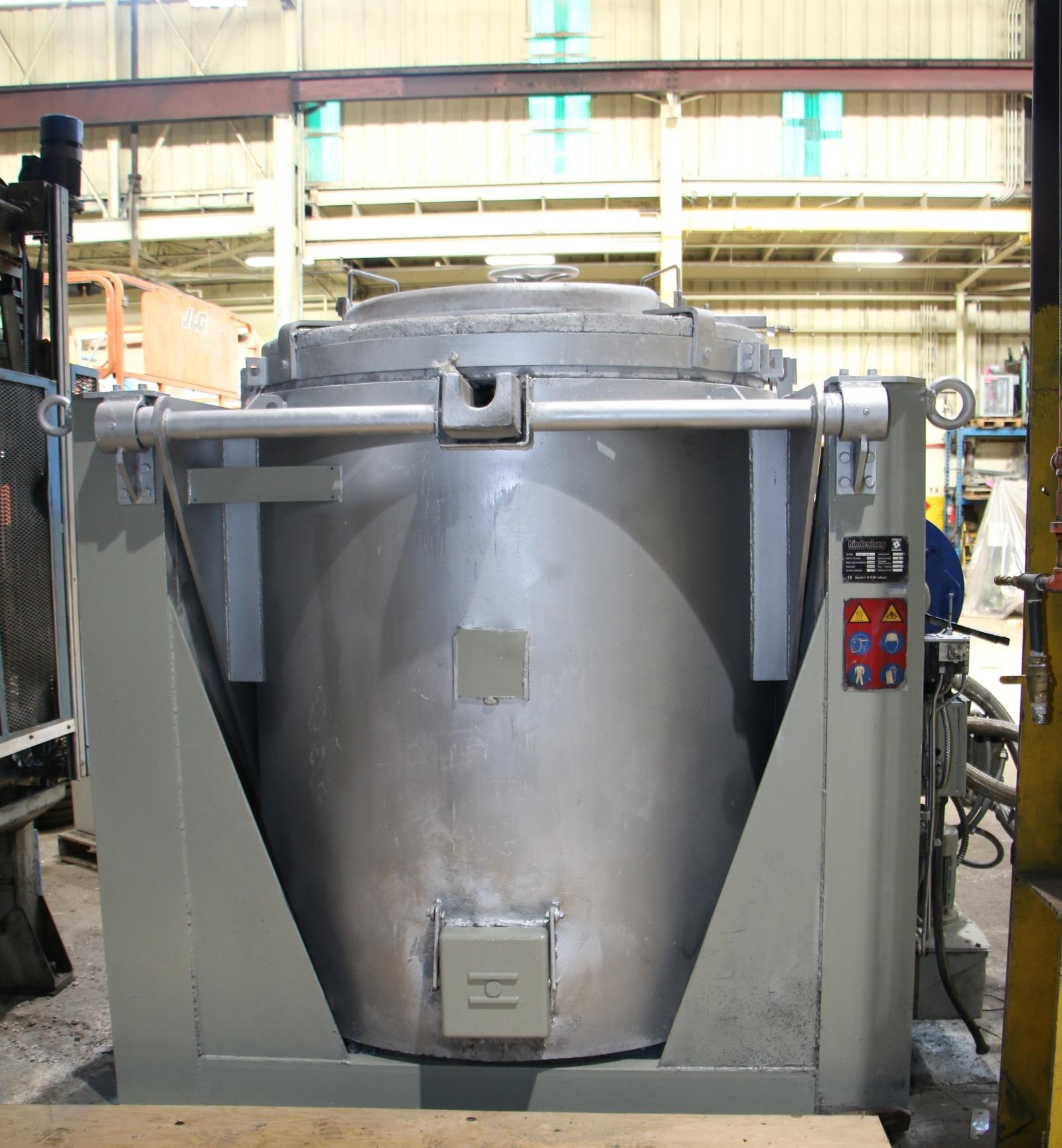 Used Hindenlang 2646 Lbs Gas Melting Furnace #4659