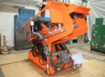 Used Hall 3HS Tilt Pour Molding Gravity Die Casting Machine #4669