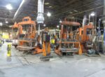 Used Hall 3HS Tilt Pour Molding Gravity Die Casting Machine #4673