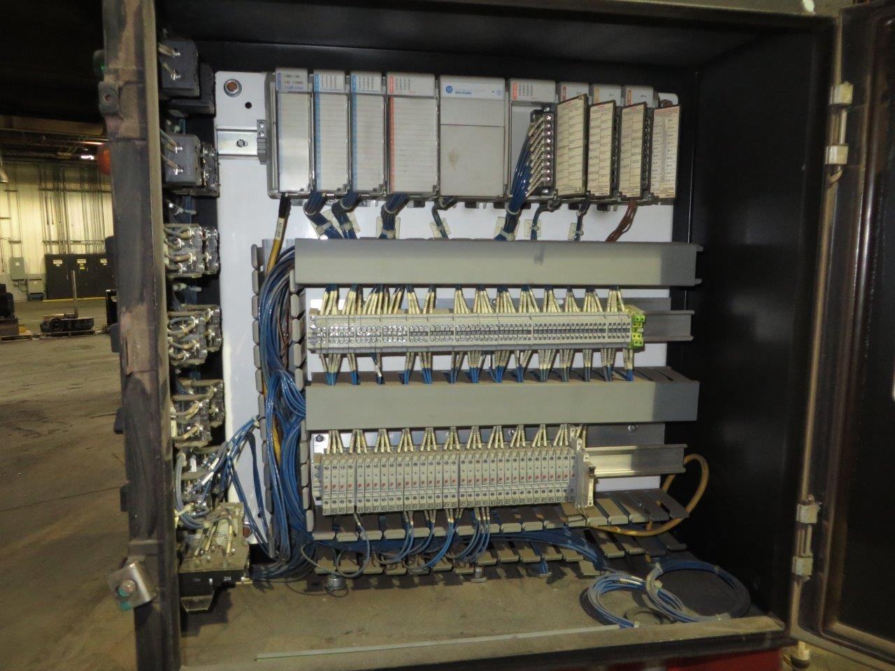 Used Hall 3HS Tilt Pour Molding Gravity Die Casting Machine #4671