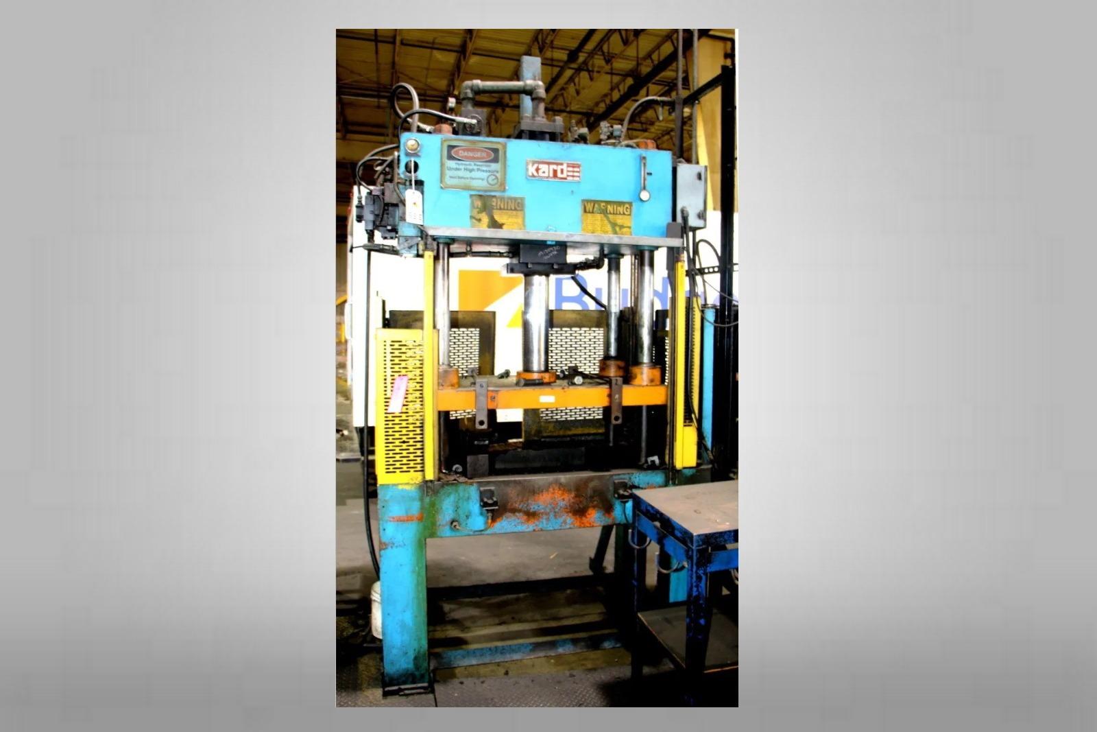 Used Kard 30 Ton Trim Press Die Casting #4683