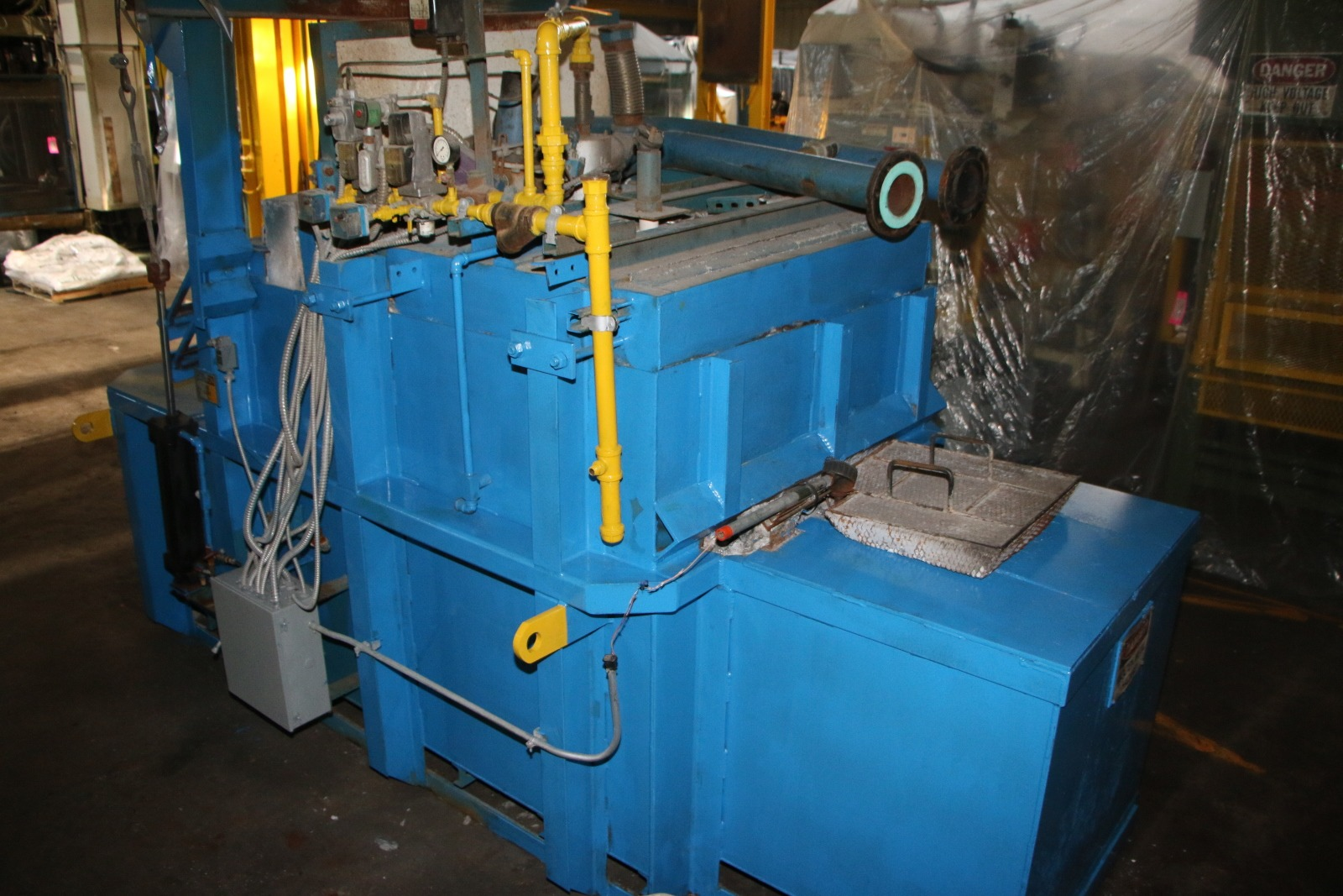 Used Schaefer 5000 Lbs Gas Melting and Holding Furnace #4701