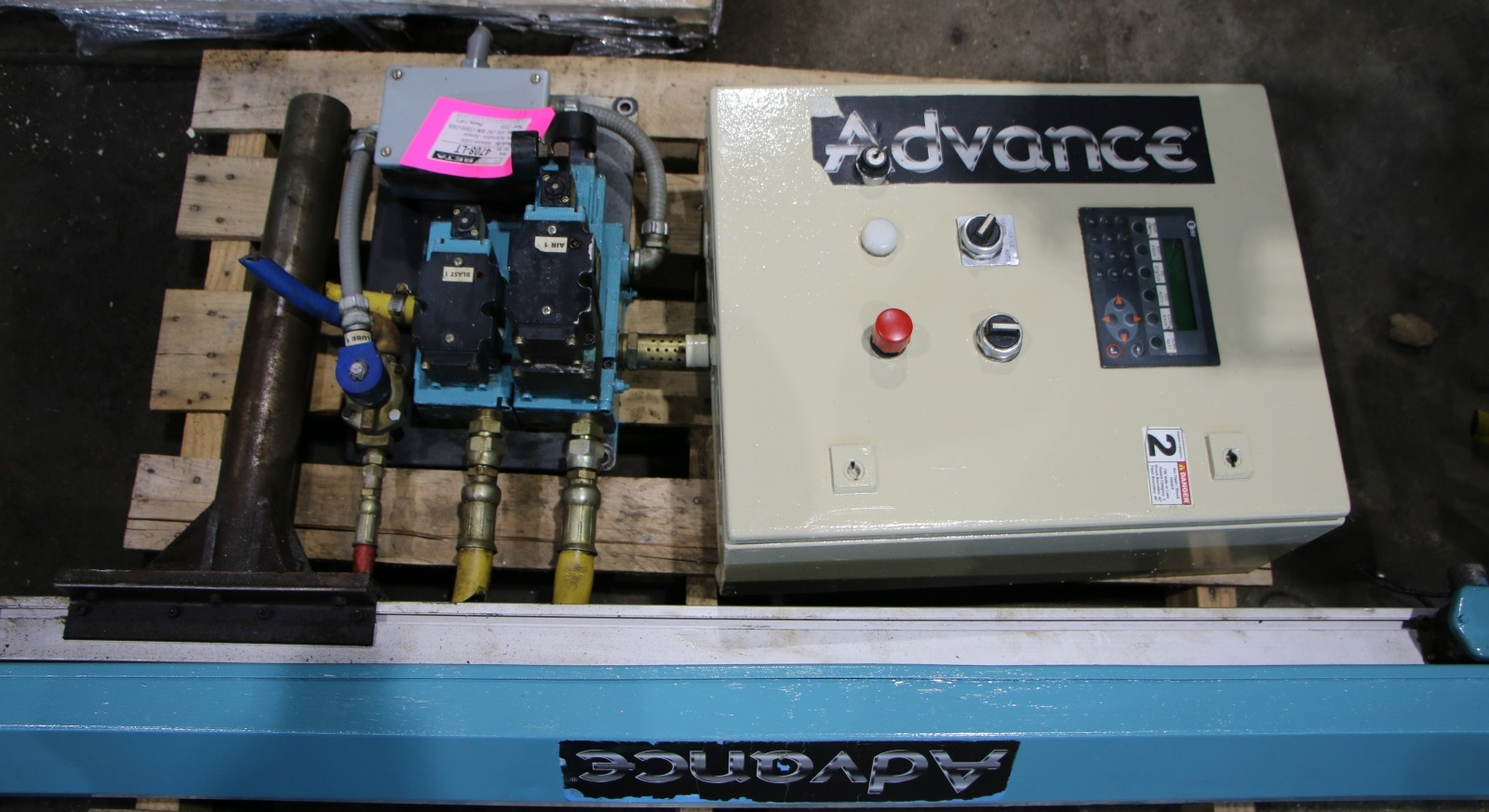 Used Advance SRL-250 Sprayer For Die Casting #4708