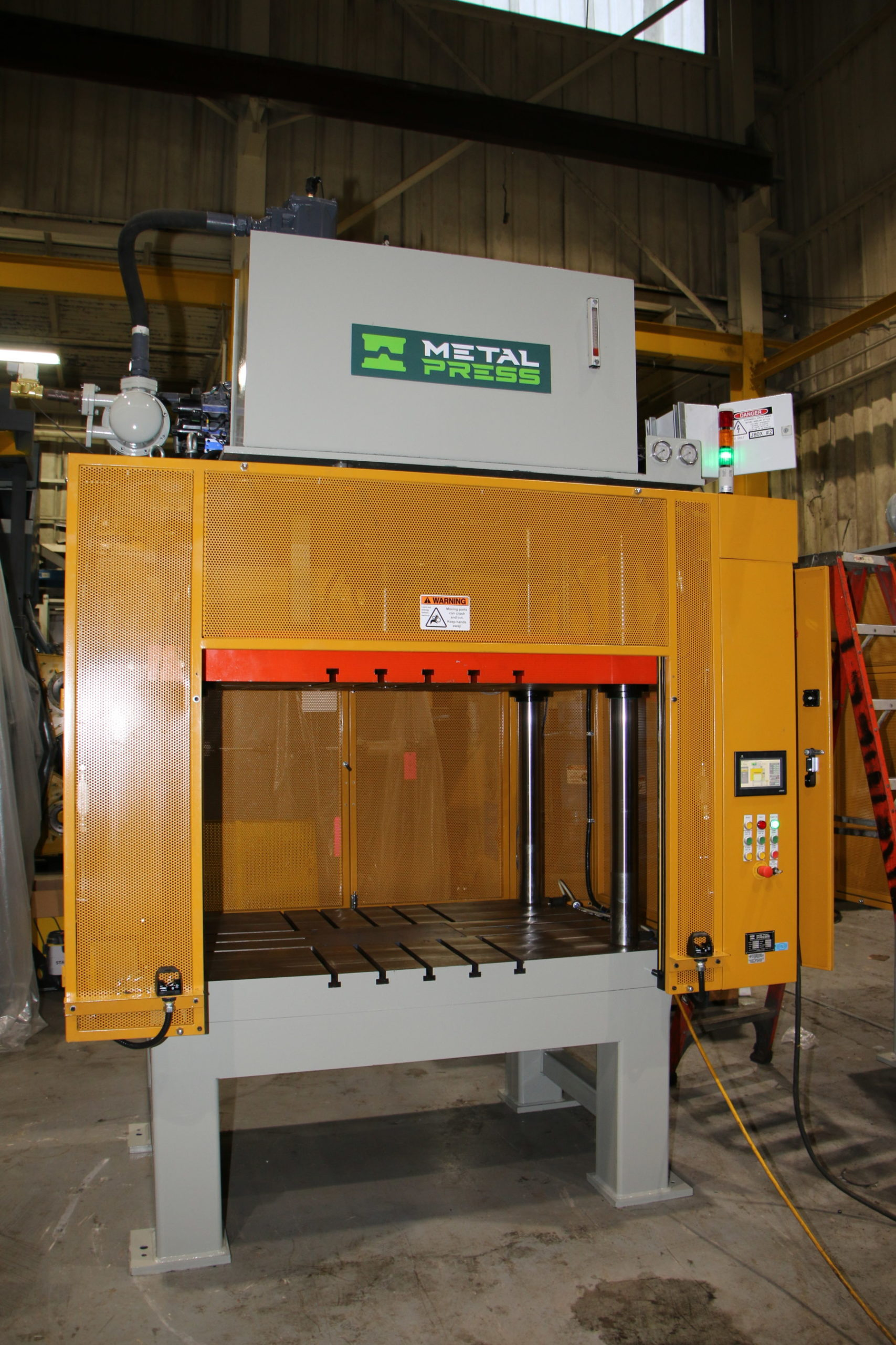 New MetalPress 50Ton Trim Press Die Casting #4734