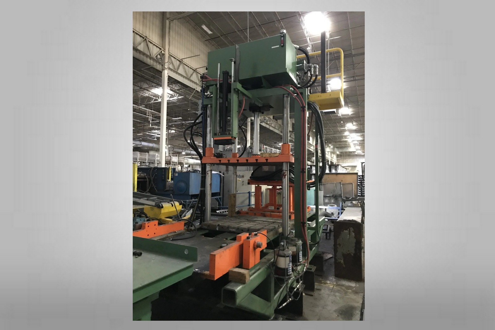 Used Trim Press 20 Ton Metal Mechanics
