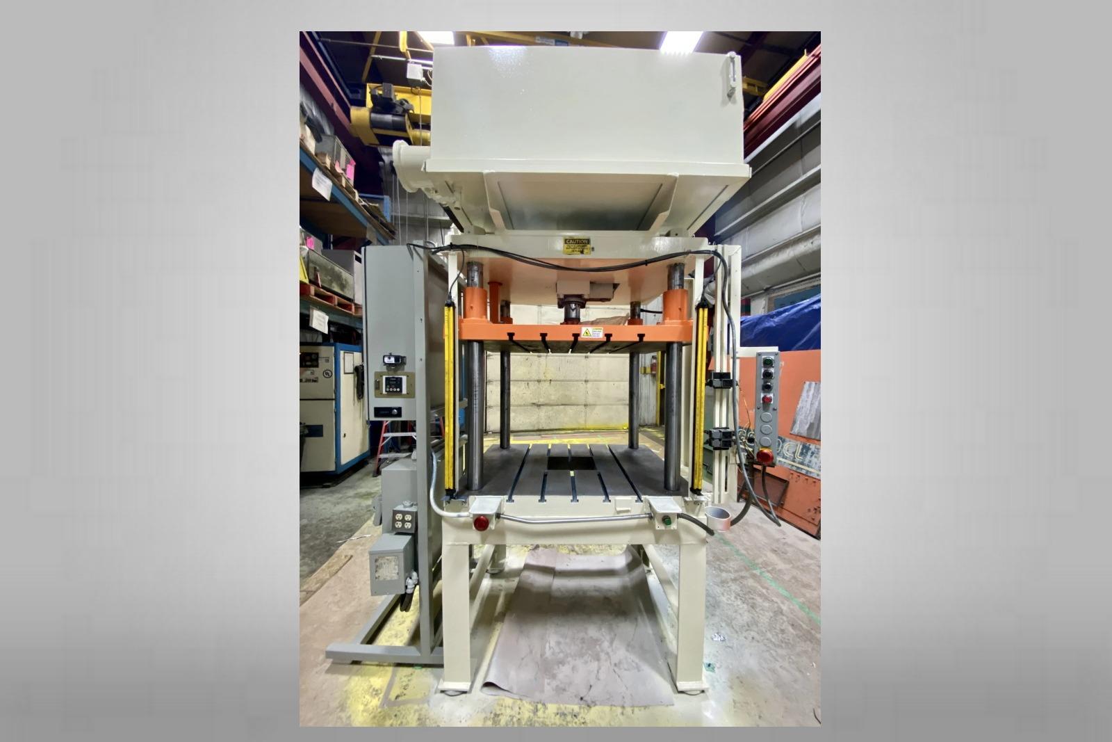 Used Metal Mechanics 35 Ton Trim Press Die Casting #4786