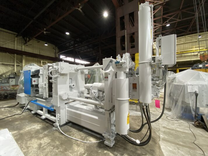 Used Frech 580 Ton Cold Chamber Die Casting Machine #4737