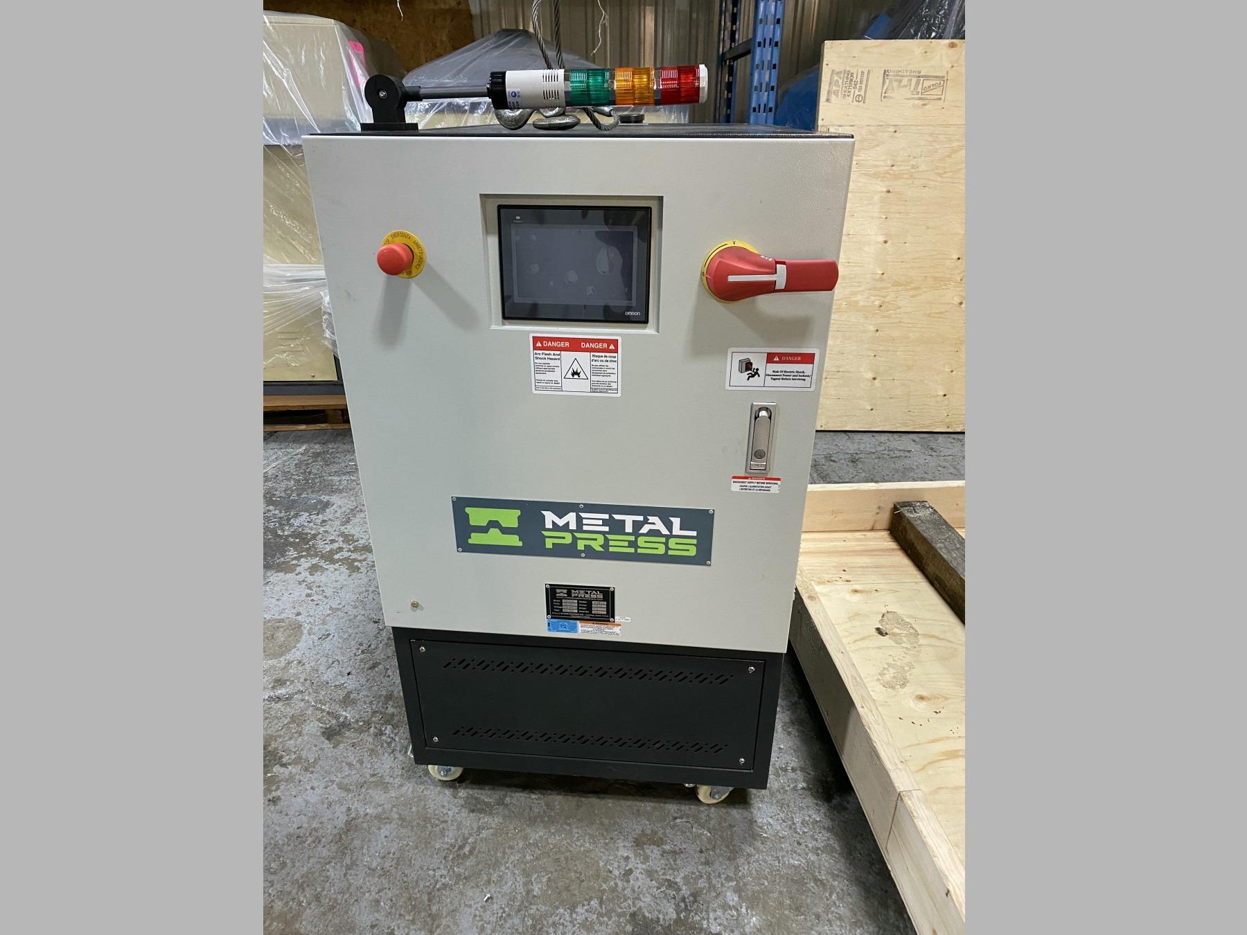 New MetalPress Hot Oil Temperature Control Unit #80885