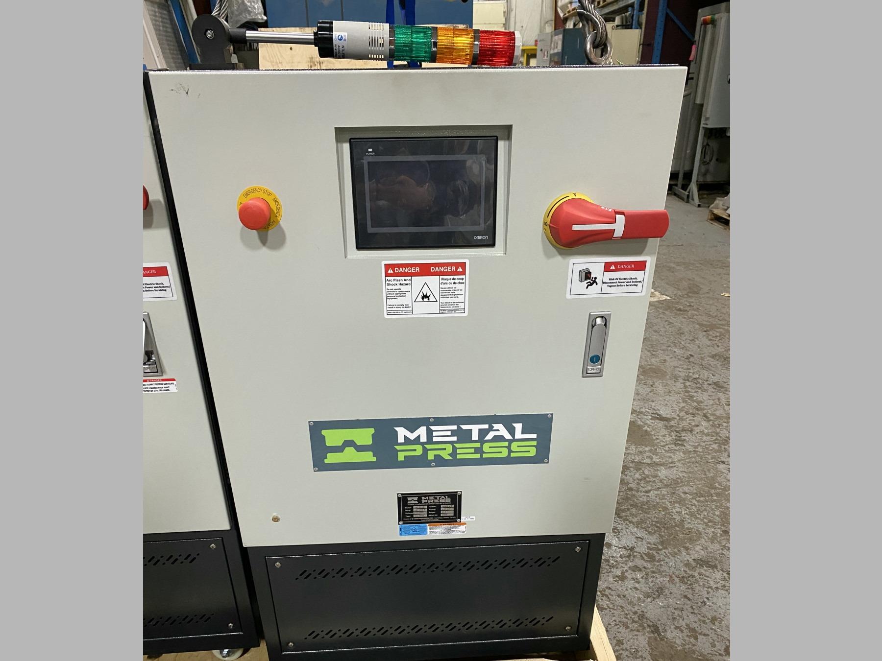 New MetalPress Hot Oil Temperature Control Unit #80886