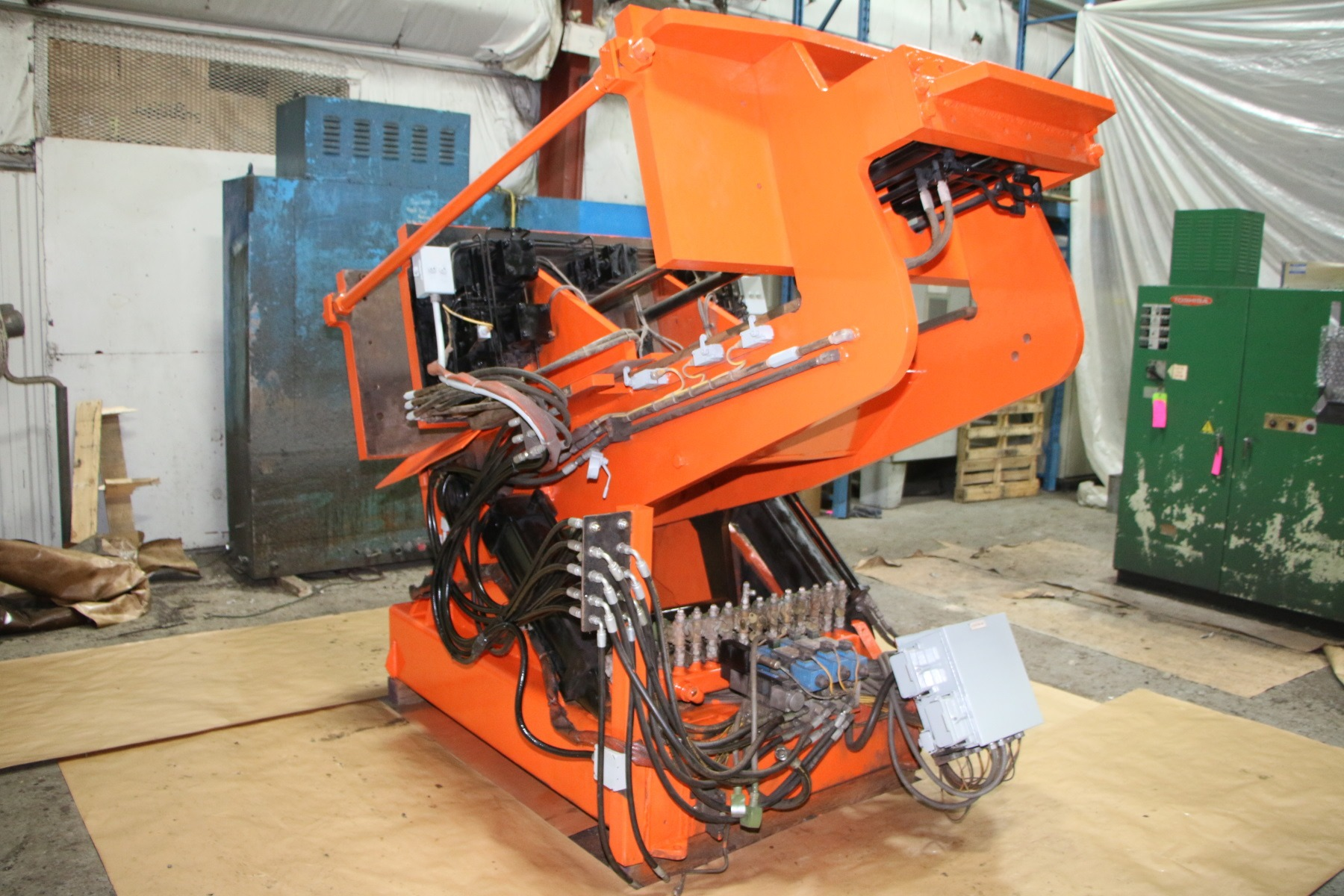 Used Hall 3HS Tilt Pour Molding Gravity Die Casting Machine #4675
