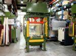 Used Metal Mechanics 35 Ton Trim Press Die Casting #4754