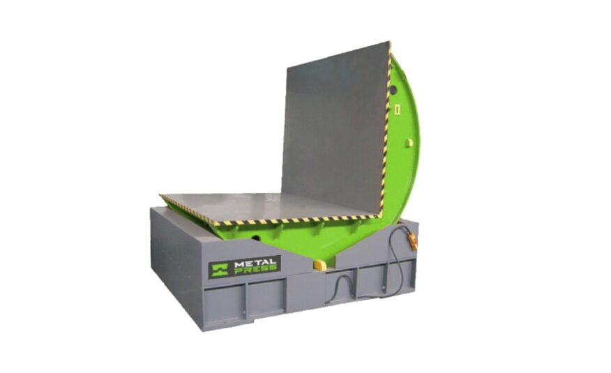 New MetalPress 5 Ton Hydraulic Die Mold Upender #4543