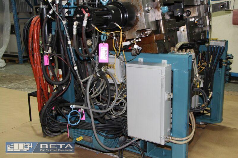 Used Techmire 8×8/10×10 Multi-Slide Die Casting Machine #4529
