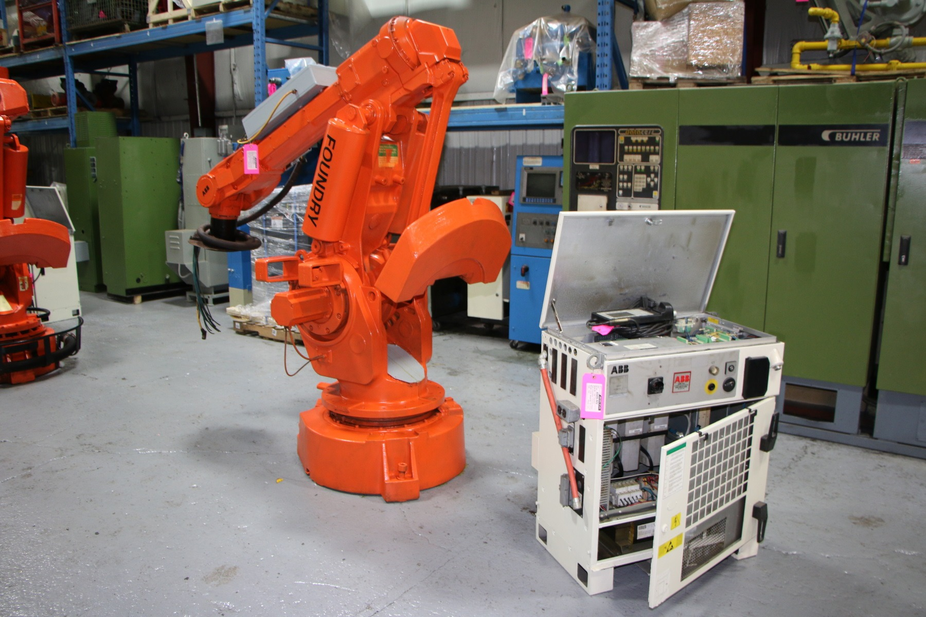 Used ABB 6400 Foundry Plus Robot #4509