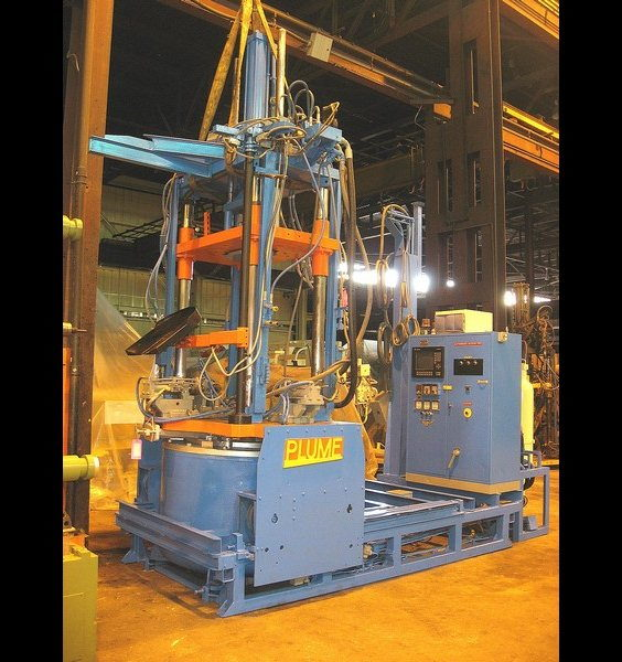 Used Plume Low Pressure Permanent Mold Die Casting Machine #3753
