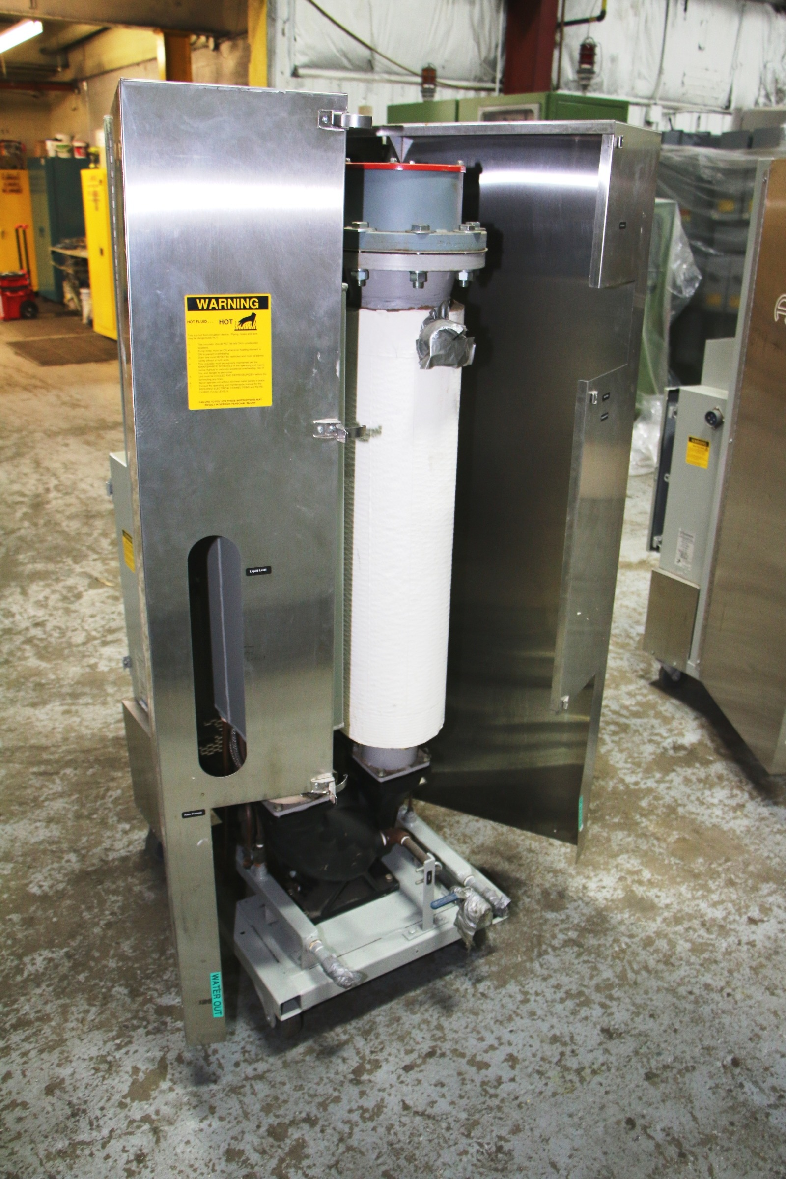 Used Advantage Hot Oil Temperature Control Unit #4441