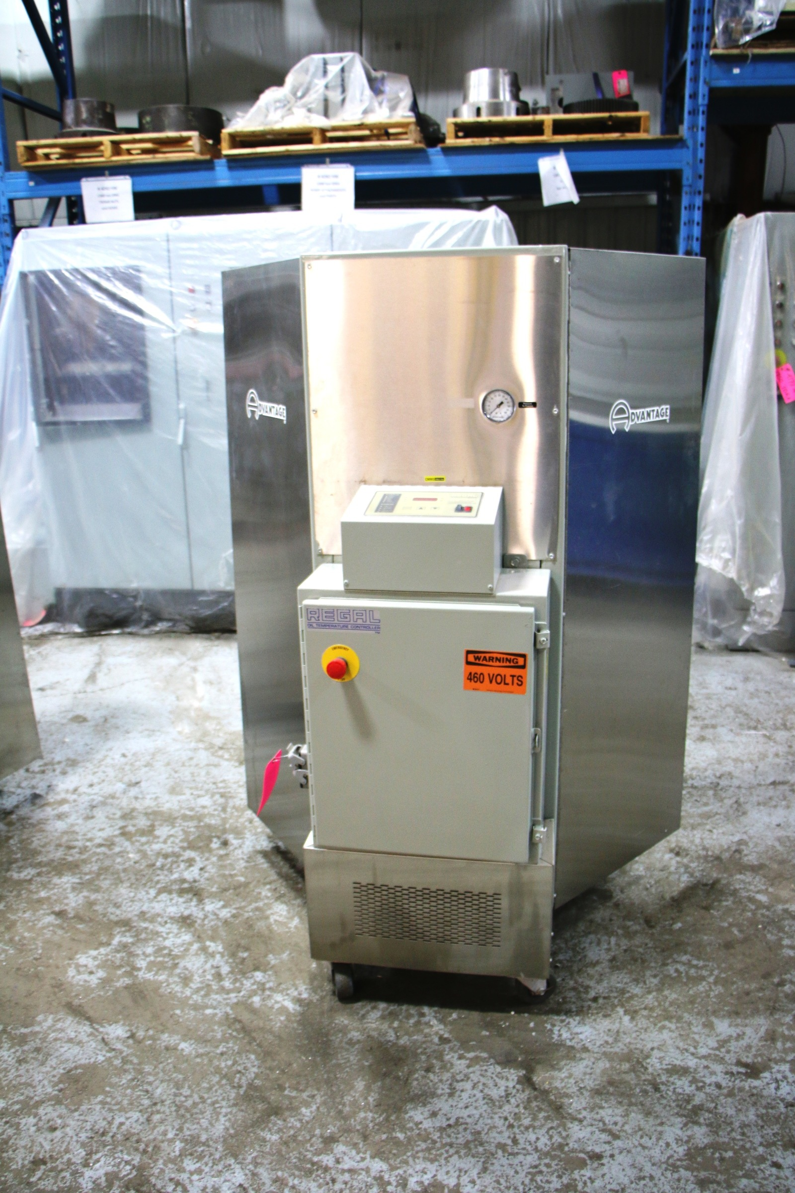 Used Advantage Hot Oil Temperature Control Unit #4442
