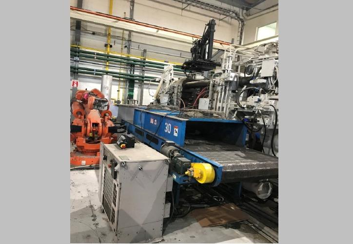 Used Erect-O-Veyor Conveyor Belt #4804