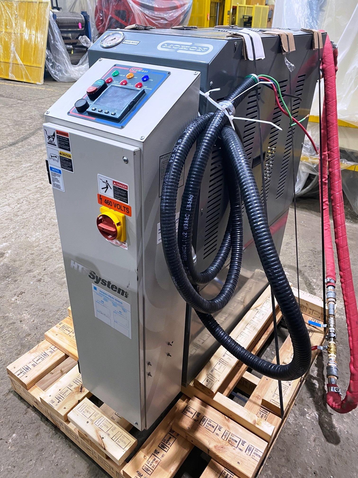 Used Mokon Single Zone Hot Oil Temperature Control Unit #4762