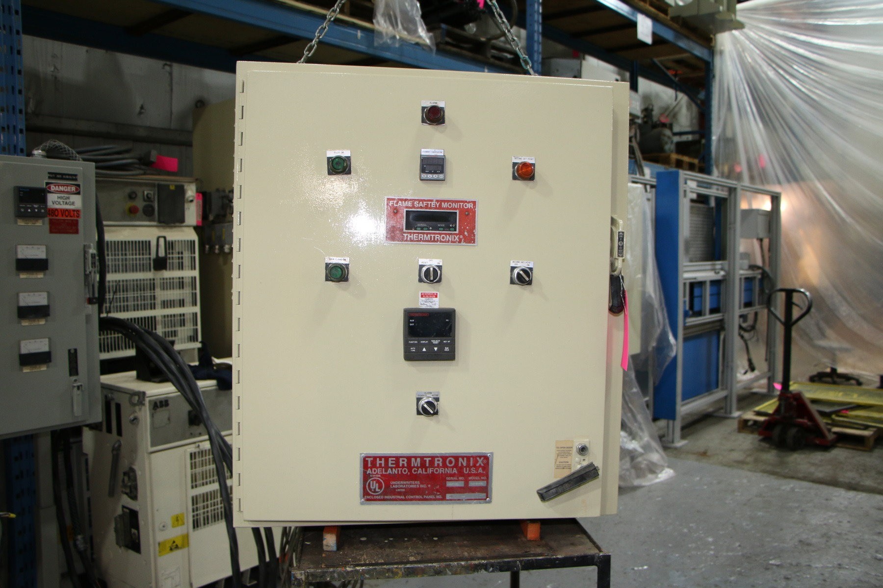 Used Thermtronix 2000 Lbs Gas Melting and Holding Furnace #4760