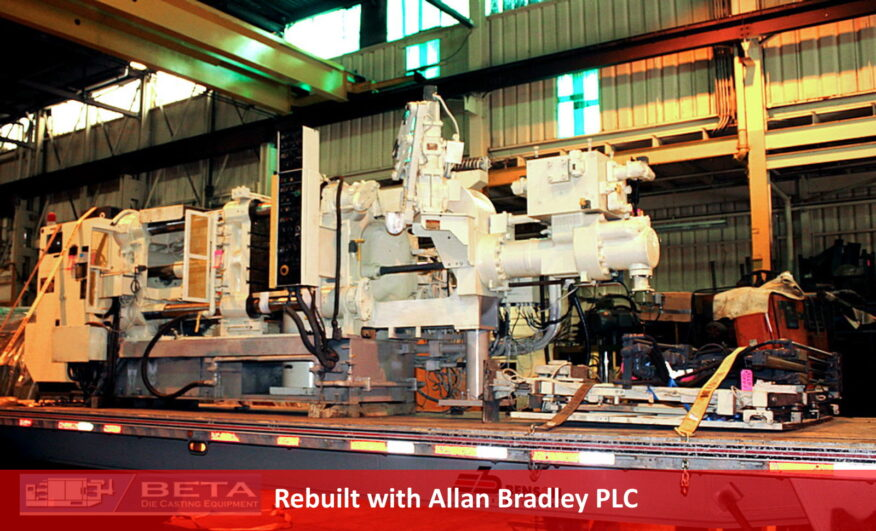 Used Toshiba 350 Ton Cold Chamber Die Casting Machine #4414