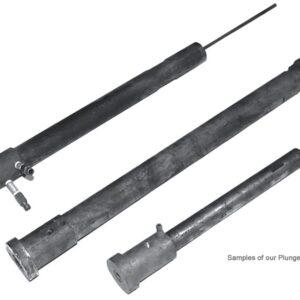 "Plunger Rod Type A 2.44"" OD1 x 2.17"" OD3 x 27.25"" LT"