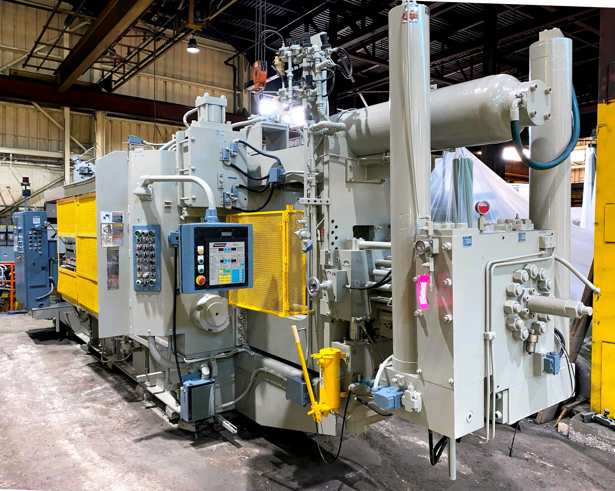 Used HPM 900 Ton Cold Chamber Die Casting Machine #4874
