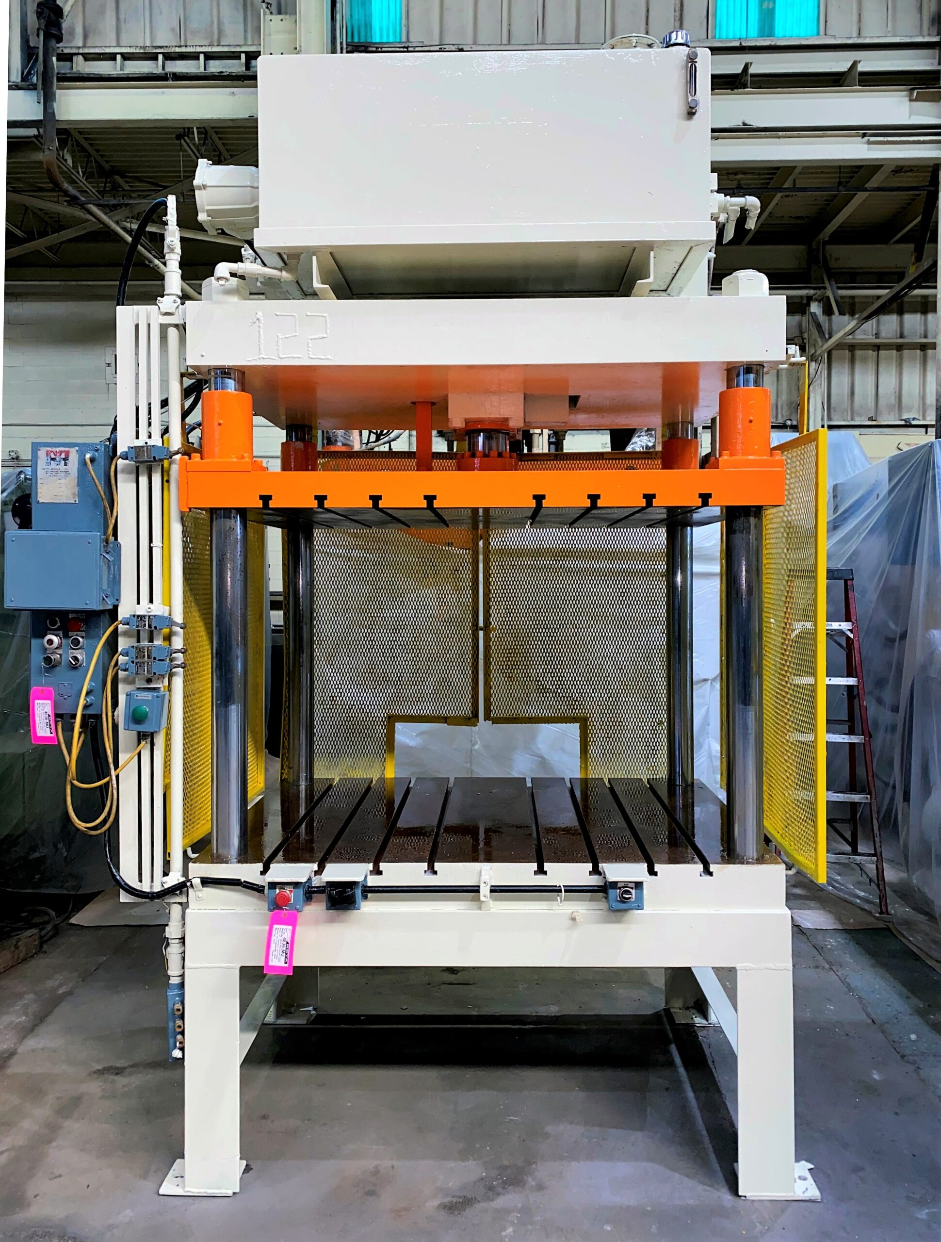 Used Trim Press 75 Ton Metal Mechanics