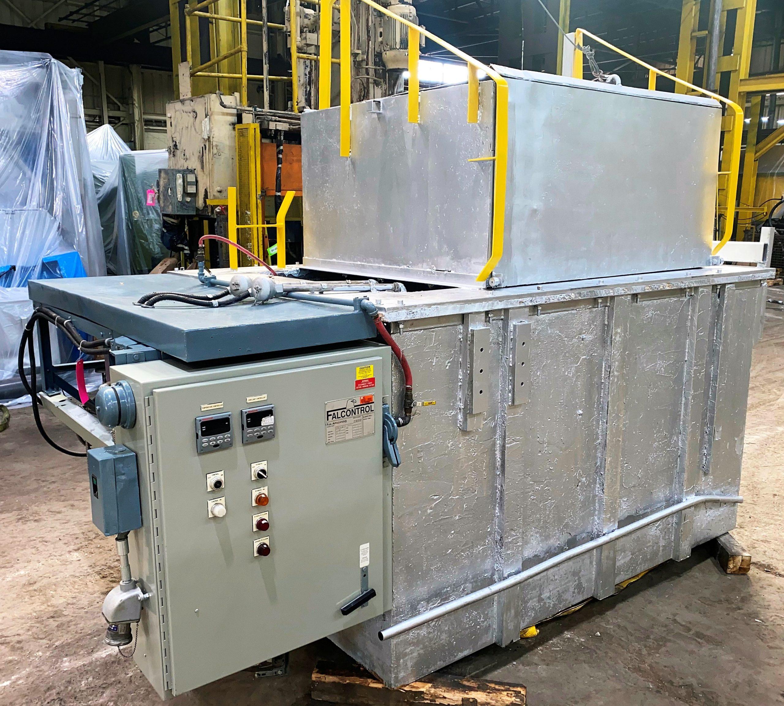 Used Falcontrol Zinc Gas Melting Furnace #4888
